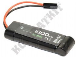 WE Airsoft 8.4V Nimh 1600mAH 3x2+1 Block Battery Pack Small Tamiya